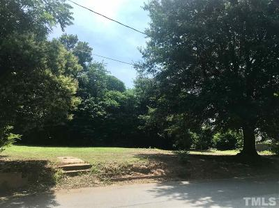 Wake County Residential Lots & Land For Sale: 1113 S Wilmington Street