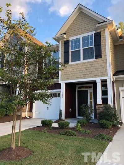 Holly Springs Townhouse For Sale: 120 Hundred Oaks Lane