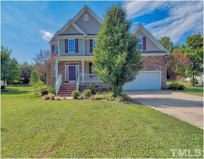 Rolesville Single Family Home Contingent: 305 Big Willow Way