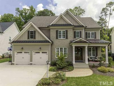 Raleigh Single Family Home Contingent: 8632 Wapello Lane