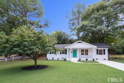 Raleigh Single Family Home For Sale: 1510 Battery Drive