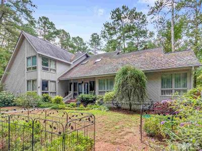 Pittsboro Single Family Home For Sale: 166 Park Drive