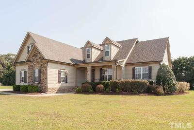 Holly Springs Single Family Home For Sale: 1737 Piney Grove Wilbon Road