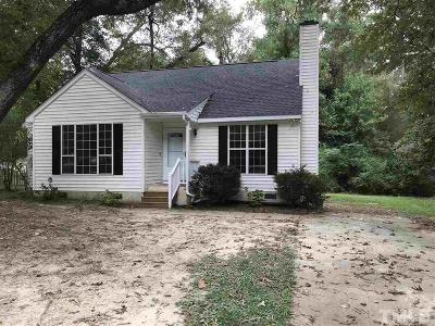 Holly Springs Single Family Home Contingent: 221 Steeple Road
