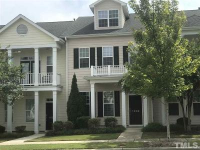 Chatham County Townhouse For Sale: 1032 Philpott Drive