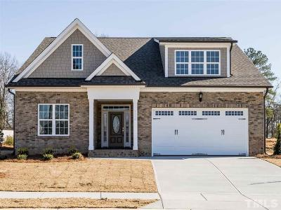 Fuquay Varina Single Family Home For Sale: 1396 To Be Added