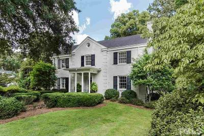 Wake County Single Family Home For Sale: 1900 St Marys Street