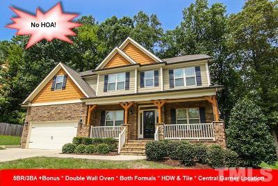 Garner Single Family Home For Sale: 203 McKnitt Place