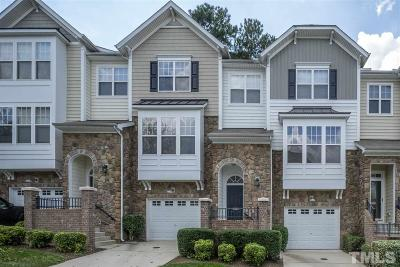 Raleigh Townhouse For Sale: 5143 Lady Of The Lake Drive