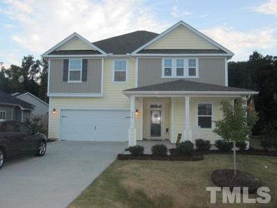 Clayton NC Single Family Home For Sale: $254,900