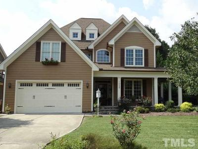 Wake Forest NC Single Family Home For Sale: $412,500