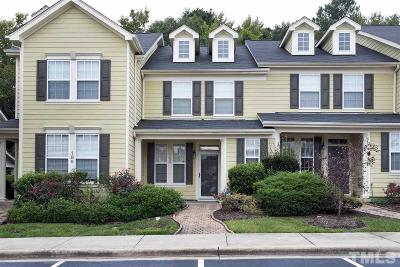 Cary Townhouse For Sale: 184 Point Comfort Lane