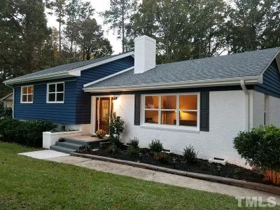 Raleigh Single Family Home For Sale: 4825 Brookhaven Drive