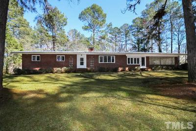Lee County Single Family Home For Sale: 1609 Carthage Street