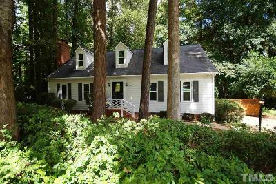 Raleigh NC Single Family Home Contingent: $264,900