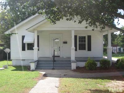 Harnett County Single Family Home For Sale: 406 S 16th Street