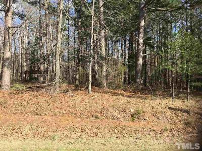 Wake County Residential Lots & Land For Sale: 5549 Hilltop Road
