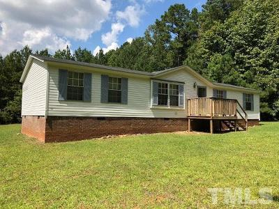 Pittsboro Manufactured Home For Sale: 1293 Mitchells Chapel Road