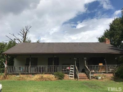 Durham County, Franklin County, Granville County, Guilford County, Johnston County, Lee County, Nash County, Orange County, Wake County Single Family Home For Sale: 6452 Beulah Church Road