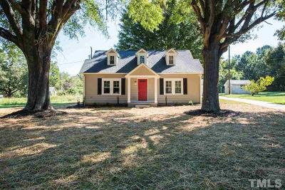 Orange County Single Family Home For Sale: 313 Nc 86 N Highway