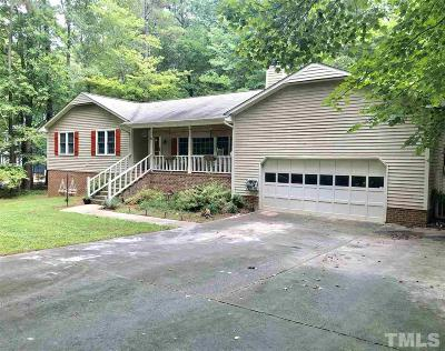 Wake Forest Single Family Home For Sale: 7200 Rabbit Run