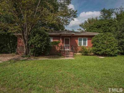Wake County Single Family Home For Sale: 3117 Mayflower Drive