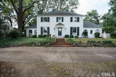 Durham Single Family Home For Sale: 1626 University Drive