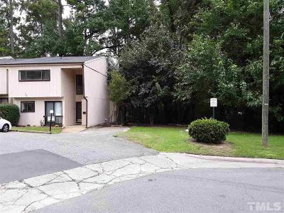 Raleigh Townhouse For Sale: 5073 Tall Pines Court