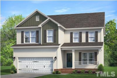 Garner Single Family Home For Sale: 51 Spring Meadow Drive #Lot 55