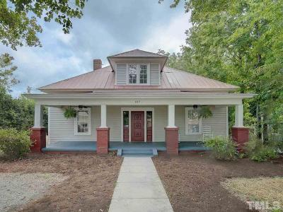 Hillsborough Single Family Home For Sale: 107 W Corbin Street