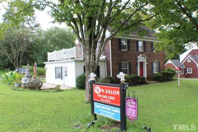 Chatham County Commercial For Sale: 137 West Street