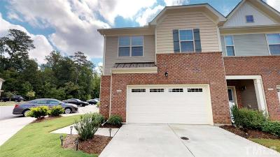 Cary Townhouse For Sale: 703 Davenbury Way