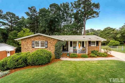 Wake County Single Family Home For Sale: 528 Harvard Street