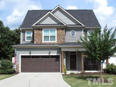 Raleigh Single Family Home For Sale: 2909 Britmass Drive