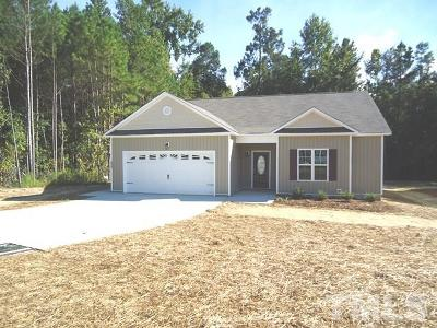 Harnett County Single Family Home Contingent: 314 Whetstone Drive