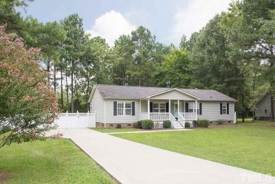 Creedmoor Single Family Home Contingent: 1679 Cobblestone Drive