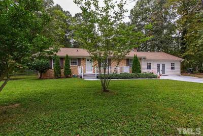 Durham Single Family Home Pending: 5631 Birch Drive