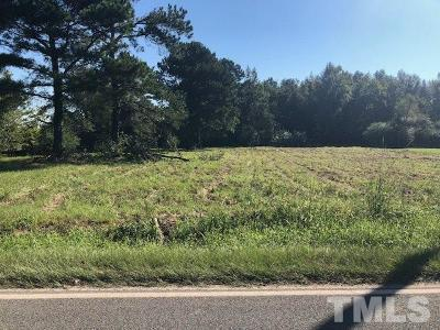 Harnett County Residential Lots & Land For Sale: 1079 W Blackman Road