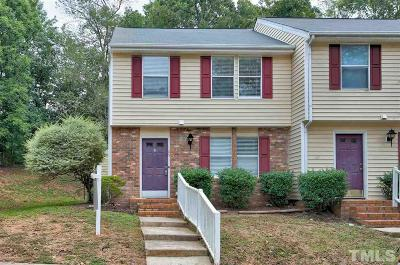 Cary Townhouse For Sale: 109 Luxon Place