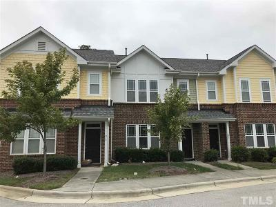 Cary Townhouse For Sale: 812 Carpenter Glenn Drive