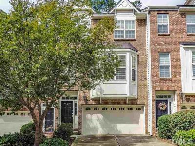 Chapel Hill Townhouse For Sale: 131 Vintage Drive