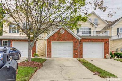 Raleigh Townhouse For Sale: 2615 Hamlet Green Drive