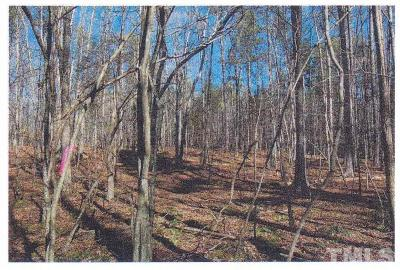 Durham County, Franklin County, Granville County, Guilford County, Johnston County, Lee County, Nash County, Orange County, Wake County Residential Lots & Land For Sale: 4191 Cannady Mill Road