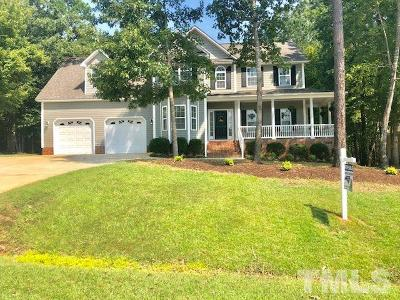 Clayton Single Family Home For Sale: 84 Ainsley Court