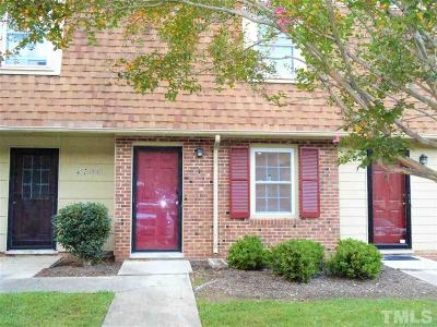 Raleigh NC Condo For Sale: $141,999