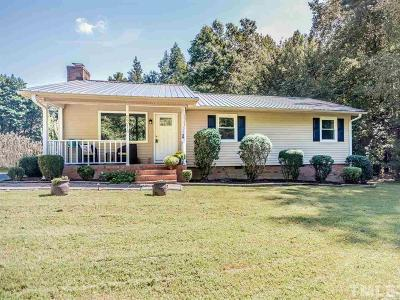 Chapel Hill Single Family Home For Sale: 5314 Nc 86 Highway South