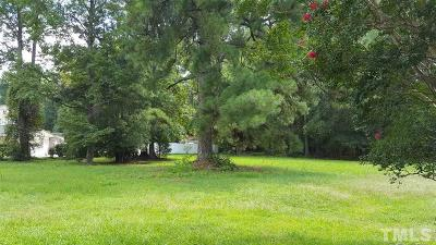 Johnston County Residential Lots & Land For Sale: 319 W Wilson Street