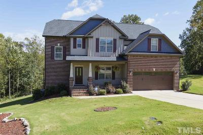 Clayton Single Family Home For Sale: 112 Marshlane Way