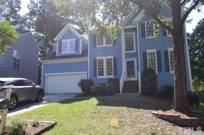 Cary NC Single Family Home For Sale: $438,500
