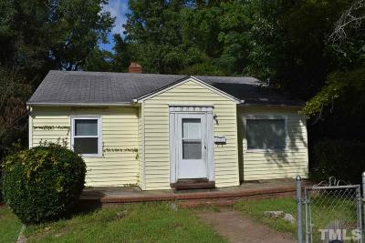 Durham Single Family Home For Sale: 2505 Ashe Street